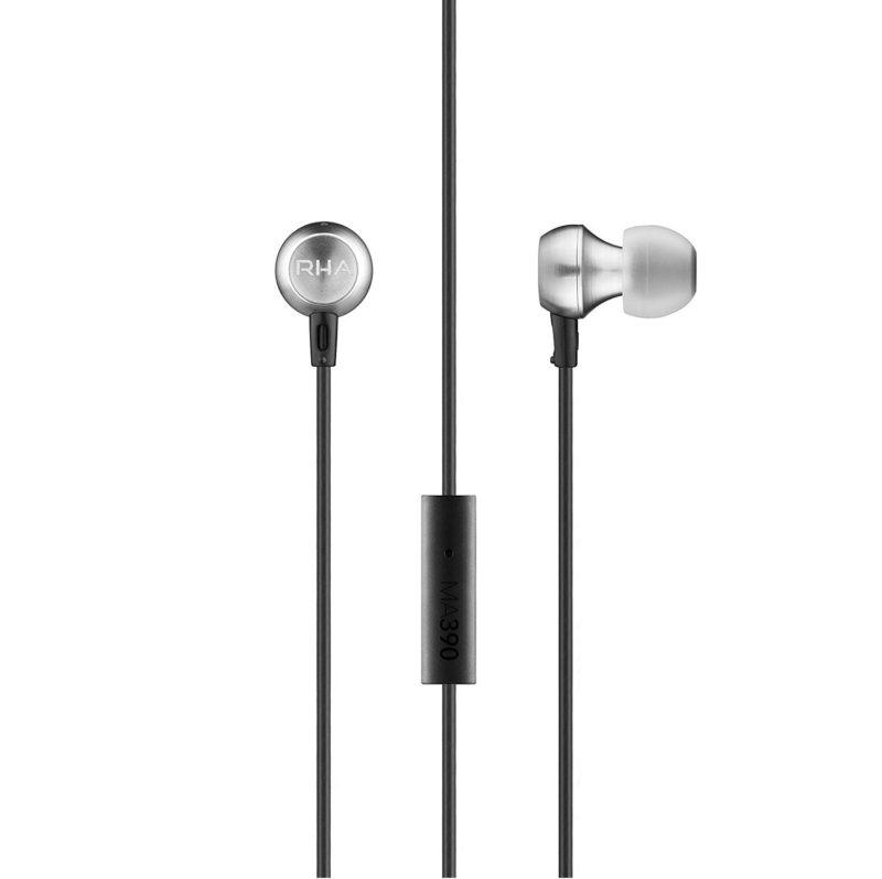 RHA MA390U Auriculares dinámicos in-ear con aislamiento de ruido