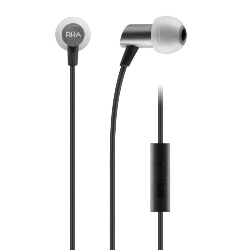 RHA S500U Intra-auricular compacto con aislamiento de ruido con control para todos los smarthones