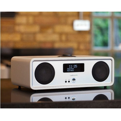 Ruark R2 MK3 Radio altavoz con WiFi internet Bluetooth y multiroom blanco