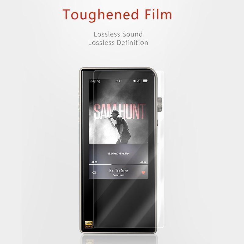 Shanling M3s Protector de pantalla de cristal templado
