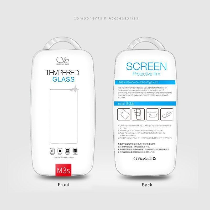 Shanling M3s screen protector Protector de pantalla de cristal templado