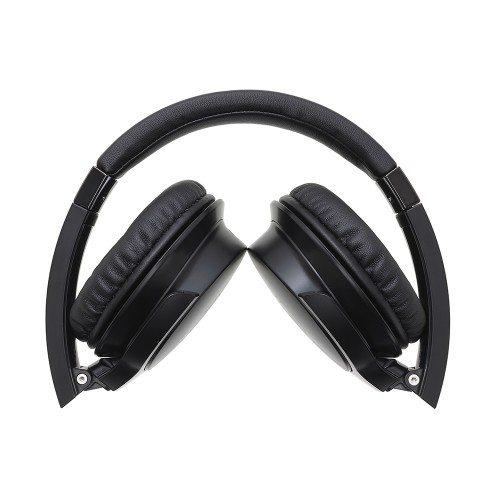 Audio Technica ATH-AR3iS Auriculares supraurales portátiles plegables negro
