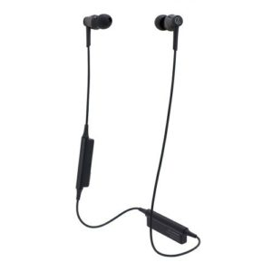 Audio Technica ATH-CKR35BT Auriculares in-ear Bluetooth inalámbricos con mando de control y micrófono negro