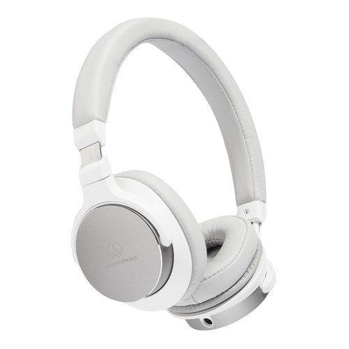 Audio Technica ATH-SR5 Auriculares plegables portátiles de alta resolución BLANCO