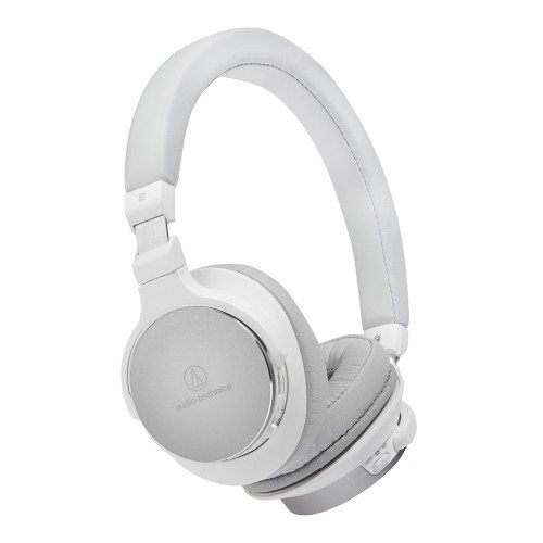 Audio Technica ATH-SR5BT Auriculares inalámbricos On-Ear de alta resolución blanco