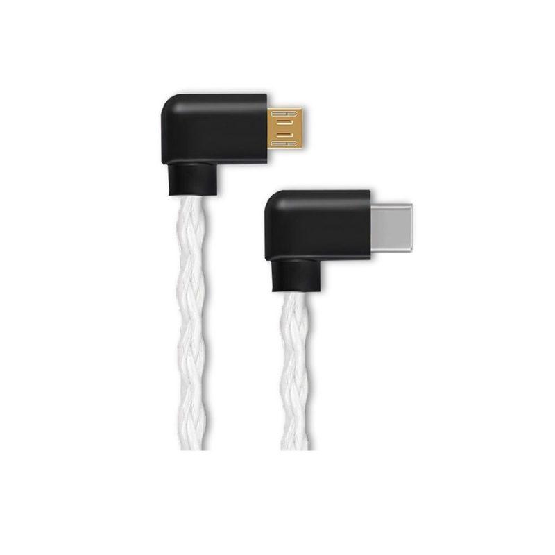 Shanling L2 cable USB de interconexión de audio Hi-Fi de USB tipo-C a MicroUSB