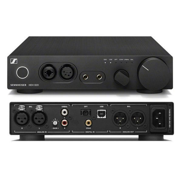 Sennheiser HDV 820 Potente amplificador de auriculares diseñado para audiófilos