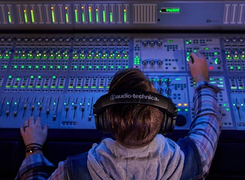 Auricular profesional de Audio Technica
