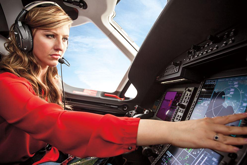 Auriculares con micrófonos Bose para pilotos