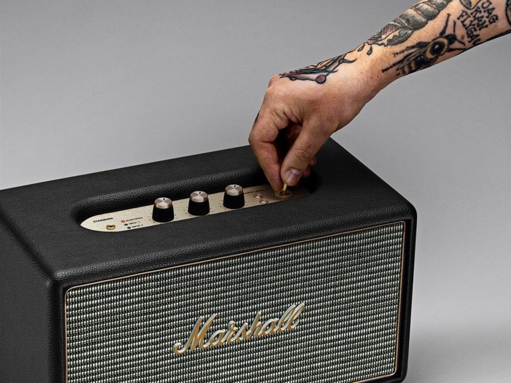 Altavoces Bluetooth Marshall Kilburn