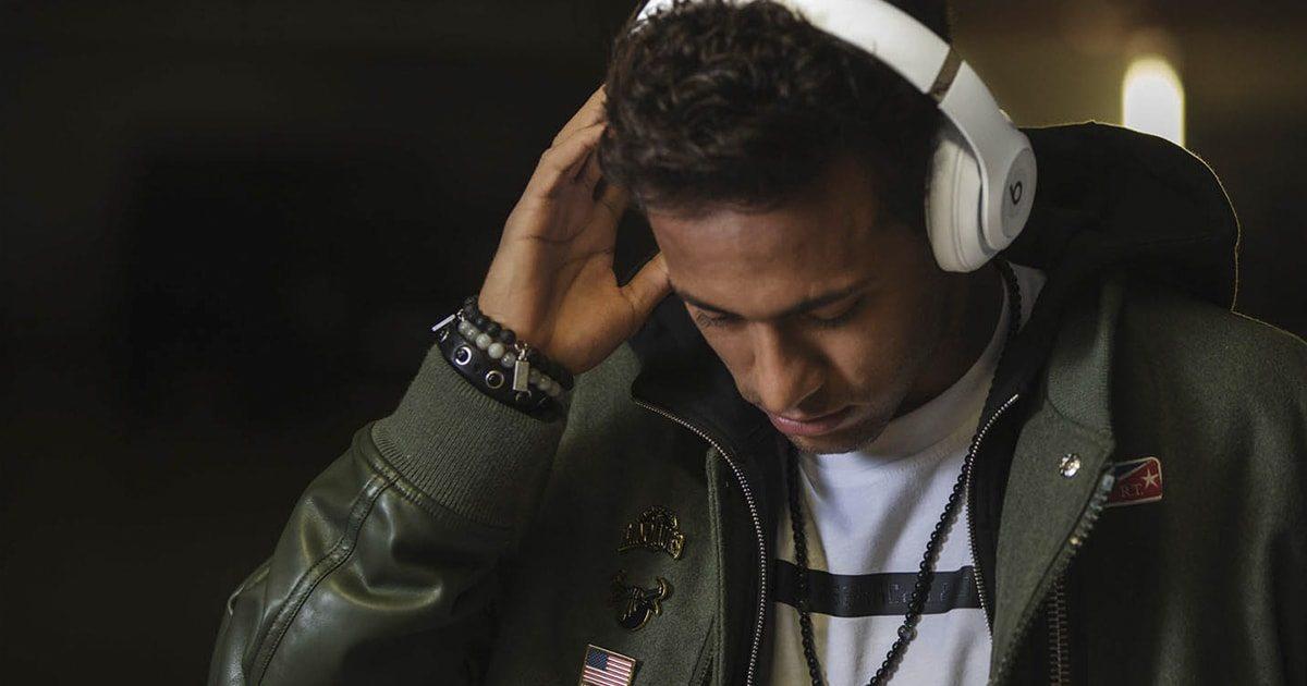 Neymar es el embajador de los auriculares de los futbolistas.