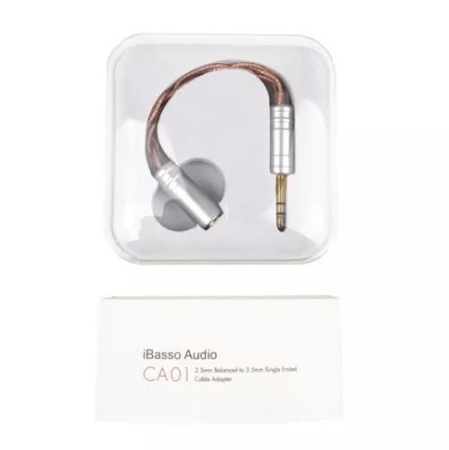 iBasso CA01 cable adaptador para auriculares balanceados de 2.5mm a 3.5 mm