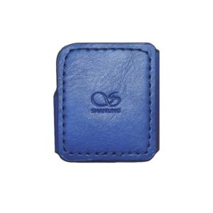 Shanling M0 funda de cuero azul leather case blue