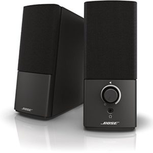 Bose companion 2 Series III Altavoces para PC