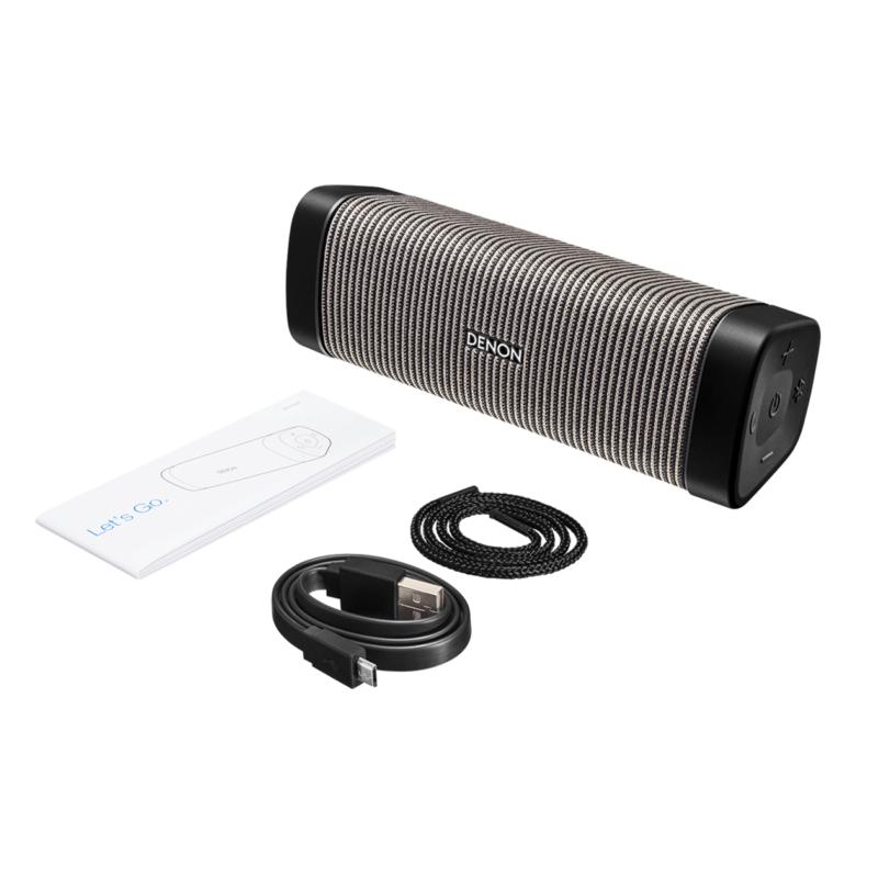 Denon Envaya Mini DSB-150BT Altavoz Bluetooth portátil Gris