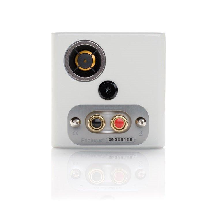 Monitor Audio Radius 45 Altavoces pequeños HiFi blanco