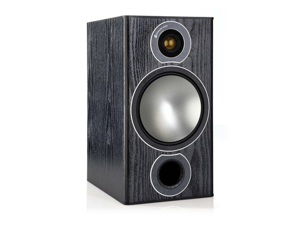 Altavoces de estantería HiFi Monitor Audio Bronze 2 negro