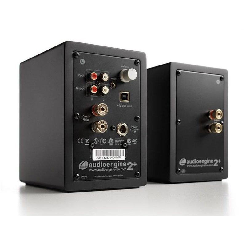Audioengine A2+ altavoces para PC NEGRO