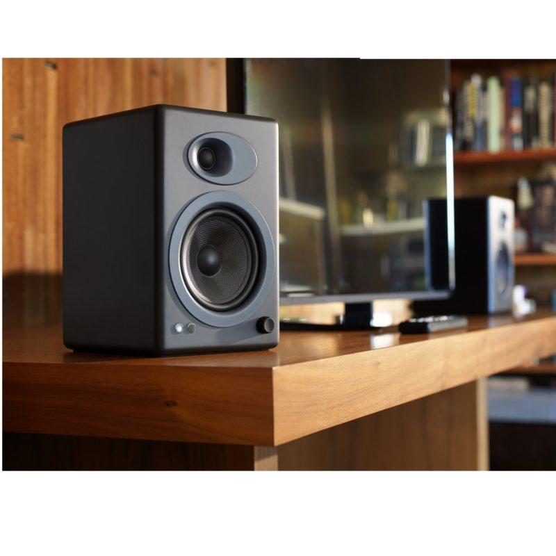 Audioengine A5+ altavoces para PC NEGRO