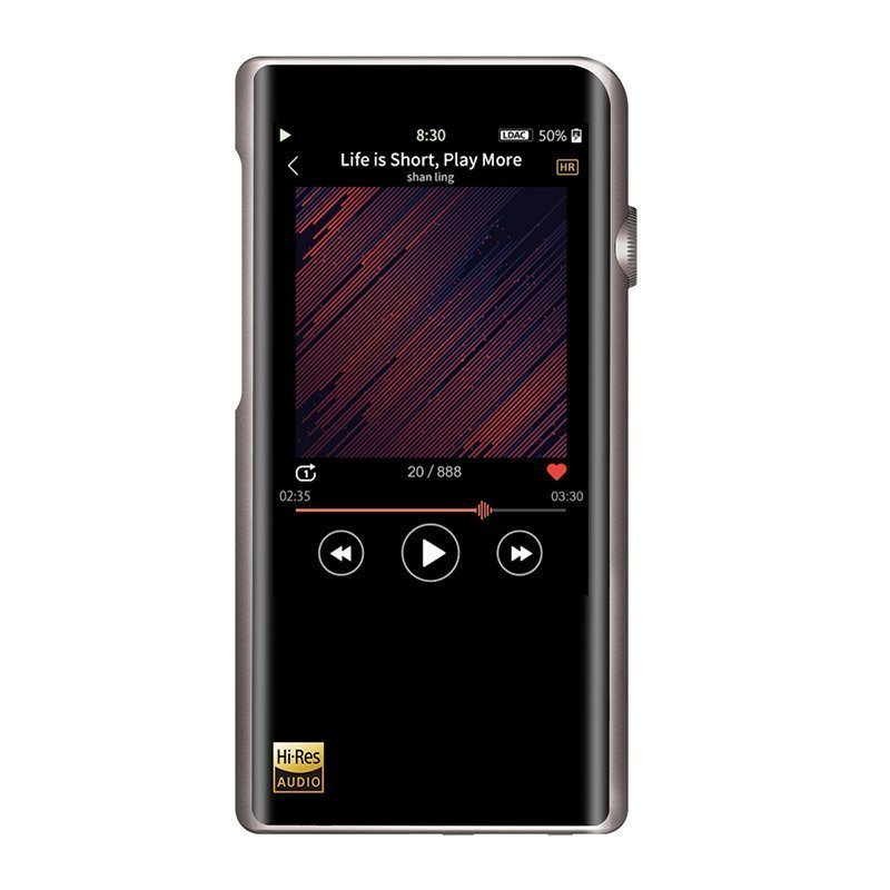 Shanling M5s. Audio music player with WiFi and Bluetooth.