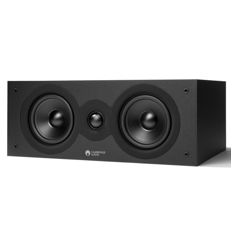 Cambridge Audio SX 70 Black Matt 2020 - Altavoz central