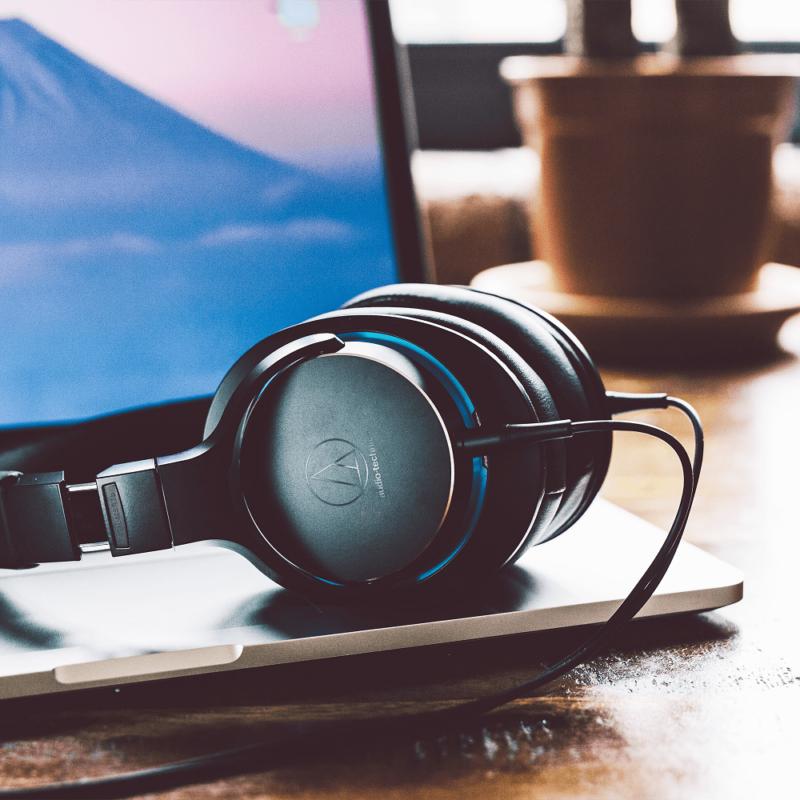 Audio Technica ATH-MSR7B auriculares con cable 4.4 marron