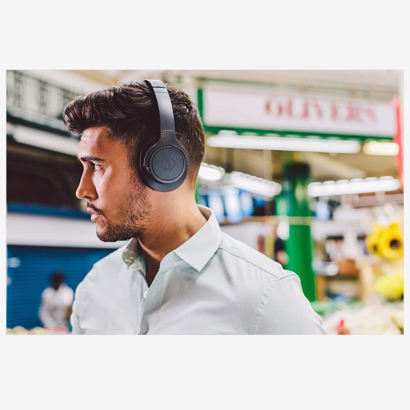 Audio Technica SR30BT Negro auriculares Bluetooth