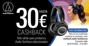 Audio Technica ATH-M50xBT Cashback