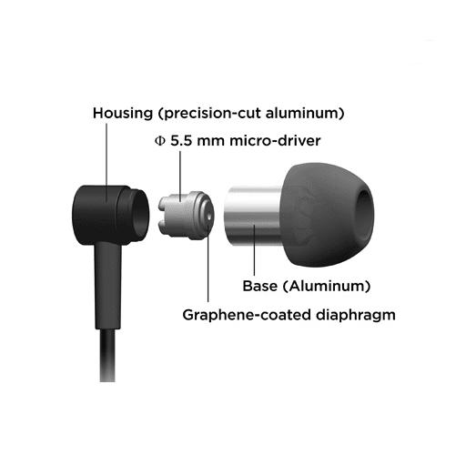 Pioneer SE-CH3T-B auriculares in-ear con micrófono