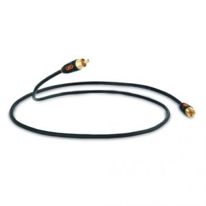 QED Profile Subwoofer Cable para conecta a subwoofer