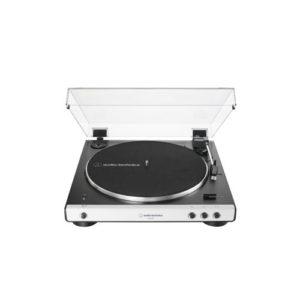 Audio-Technica AT-LP60XBT Tocadiscos con Bluetooth blanco