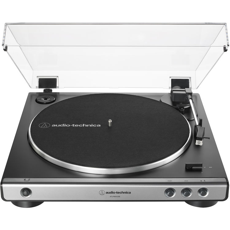 Audio technica AT-LP60XUSB Giradiscos turntable Gun Metal
