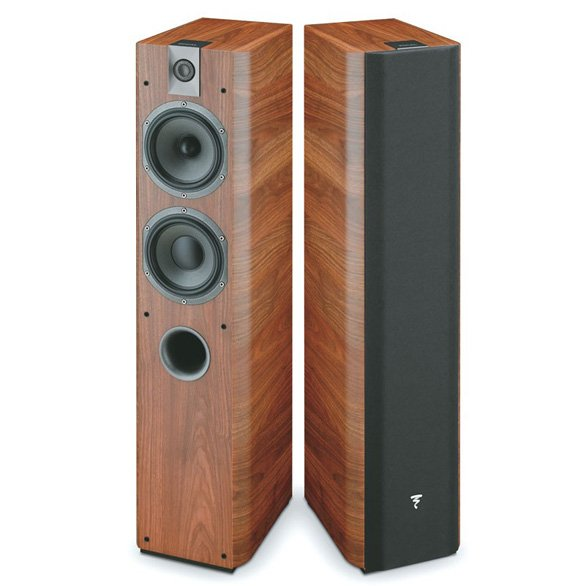 Focal Chorus 716 Altavoces monitor de alta gama nogal walnut