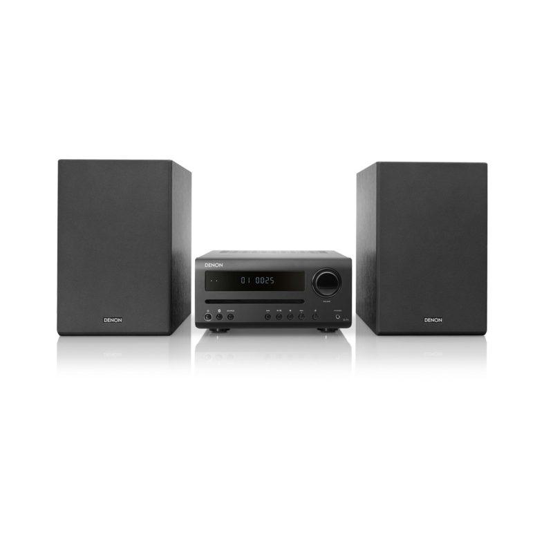 Denon D-T1 Minisistema Hi-Fi con CD y Bluetooth negro