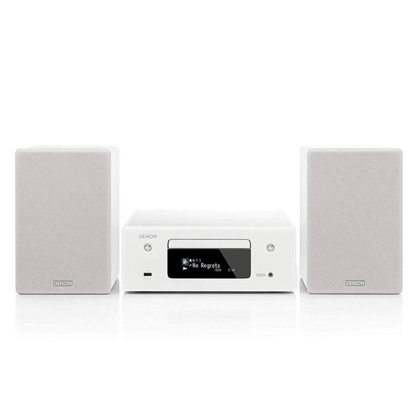 Denon CEOL N10 sistema integrado CD streaming blanco