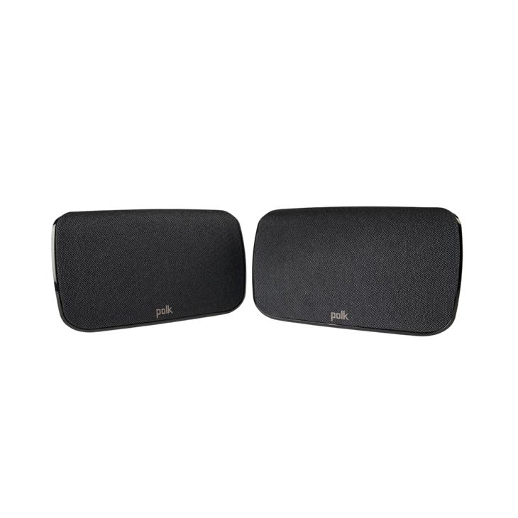 Polk SR1 Altavoces traseros envolventes inalámbricos para sistema de barra de sonido MagniFi MAX
