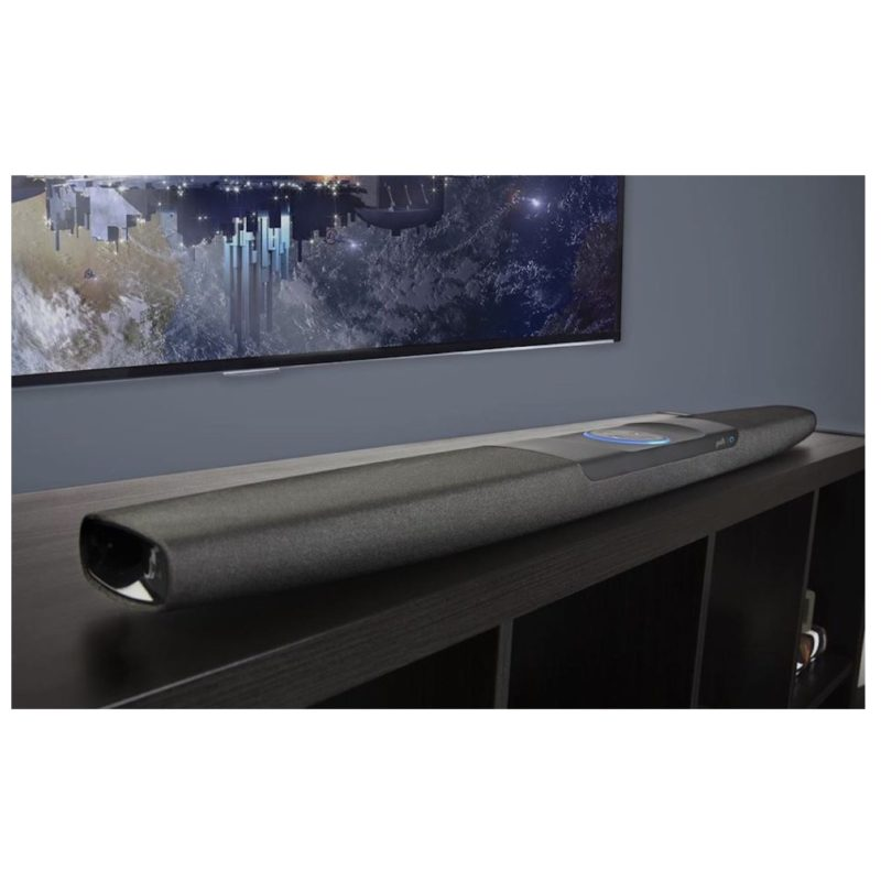 Polk Command Bar Sistema de barra de sonido Home Cinema con Amazon Alexa incorporado