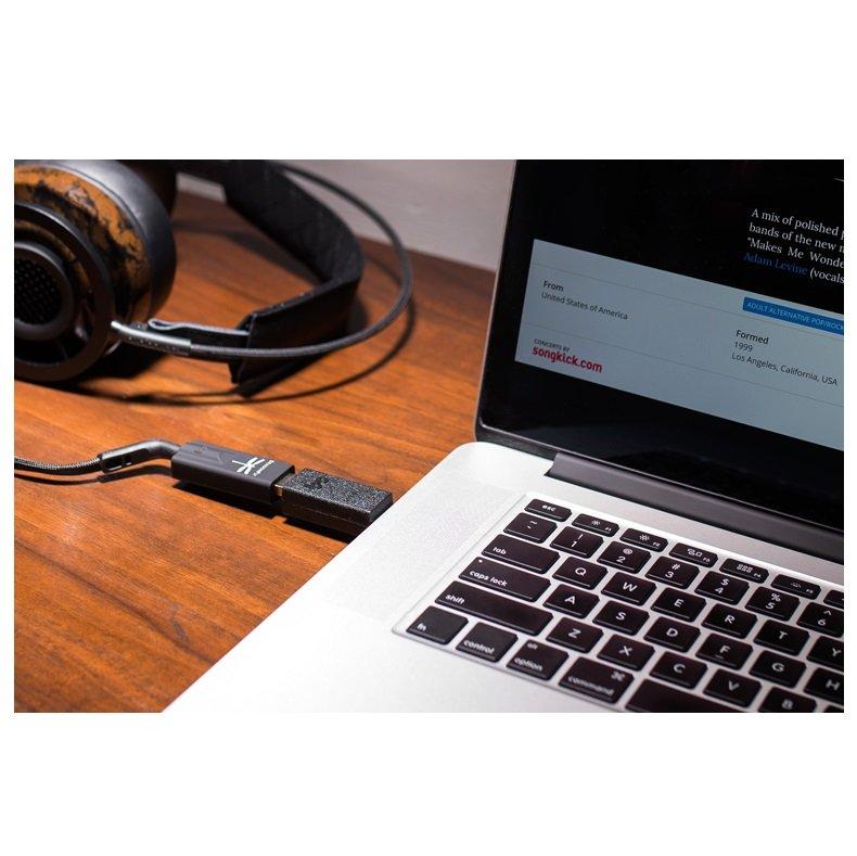 Audioquest Dragonfly Black USB DAC + Preamplificador + Amplificador de auriculares