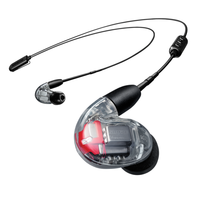 Shure SE846 Auriculares in-ear con 4 drivers azules transparente