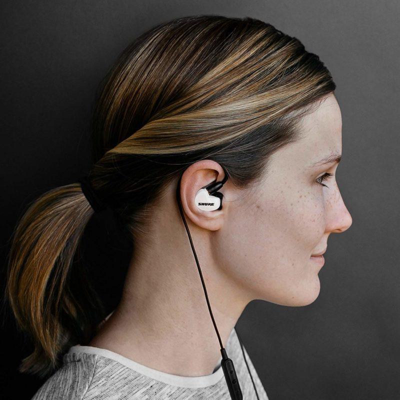 Shure SE215 Auriculares in-ear con Aislamiento de Sonido WEAR