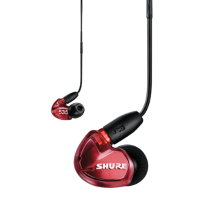 Shure SE535 Auriculares in-ear Sound Isolating ROJO