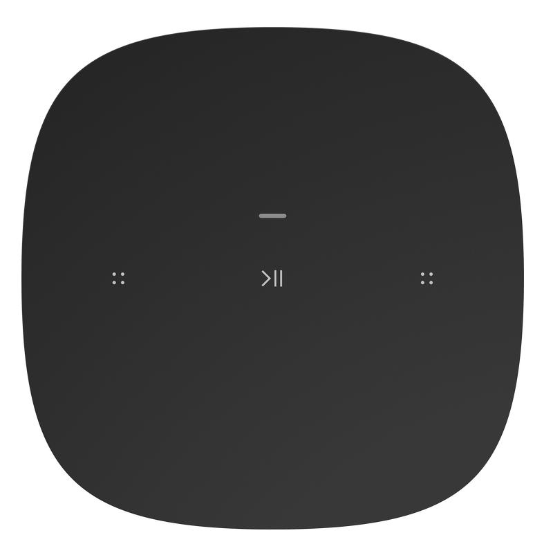 Sonos One SL otente altavoz con WiFi sin micrófono para música y más NEGRO