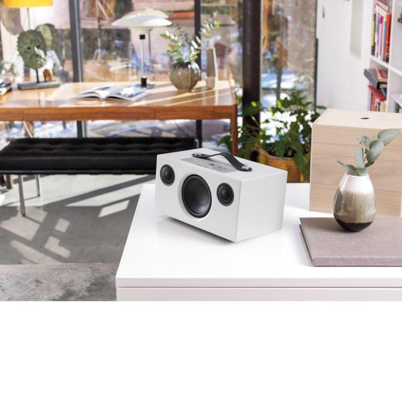 Audio Pro Addon C5A Altavoz controlado por voz BLANCO