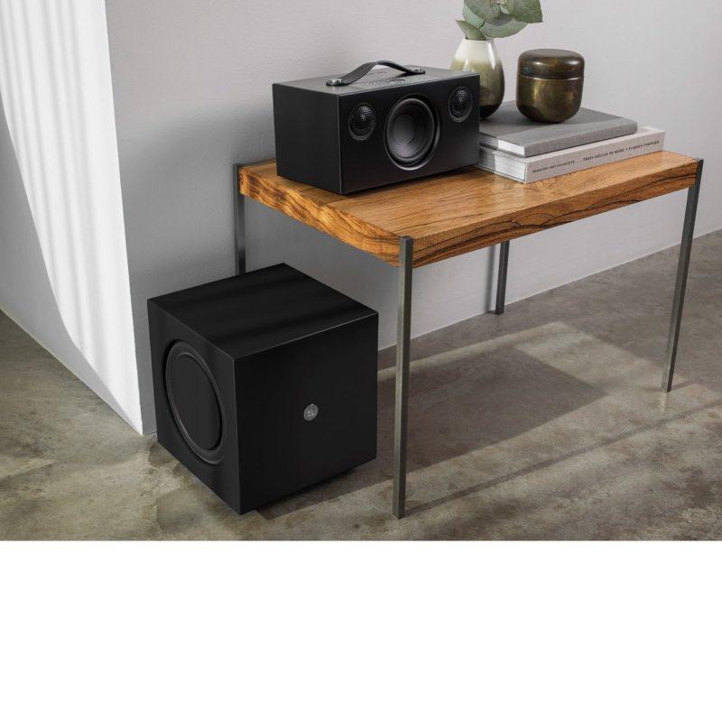 Audio Pro Addon C5A Altavoz controlado por voz NEGRO