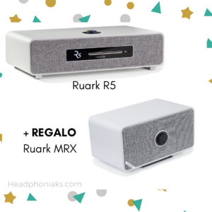 Ruark R5 Sistema de música de alta fidelidad BLANCO