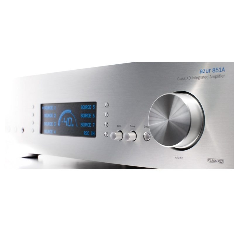 Cambridge Azur 851A Amplificador integrado Clase XD PLATA