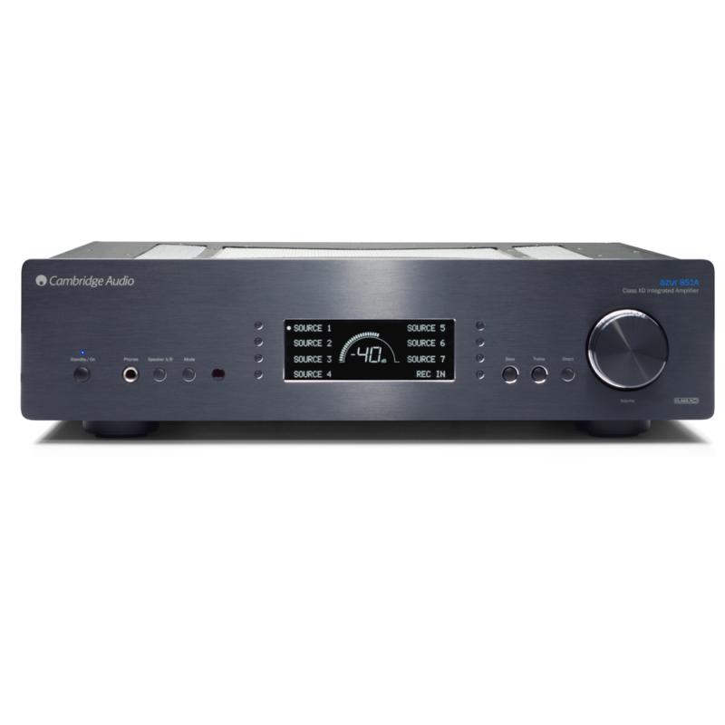 Cambridge Azur 851A Amplificador integrado Clase XD NEGRO