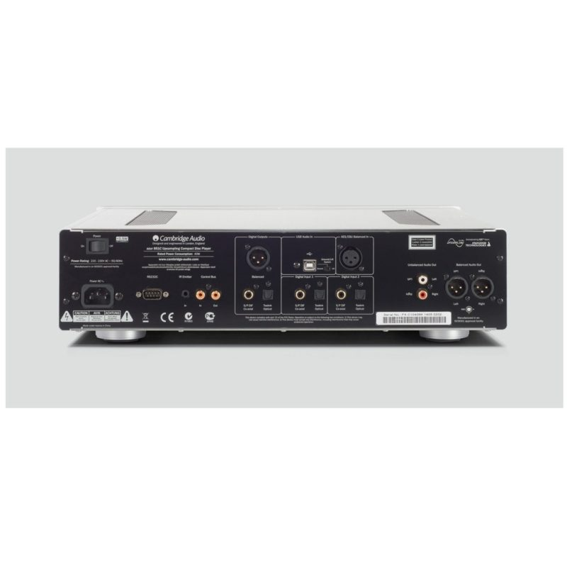 Cambridge Azur 851C Lector CD preamplificador y DAC PLATA