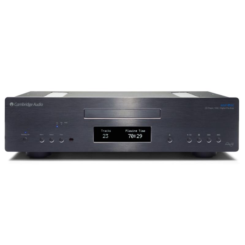 Cambridge Azur 851C Lector CD preamplificador y DAC NEGRO