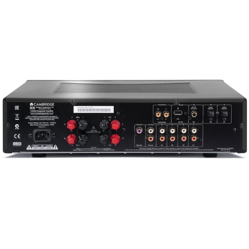 Cambridge CXA60 Amplificador integrado NEGRO